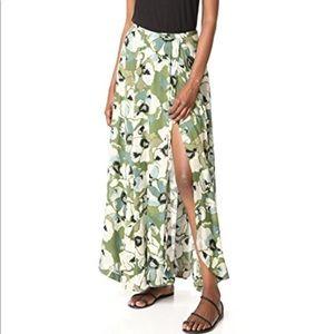 Free People Hot Tropics Maxi Skirt NWOT